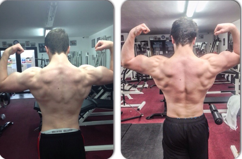 5 foot 11 Male 22 lbs Weight Gain 165 lbs to 187 lbs