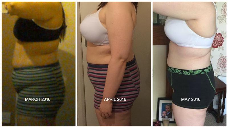Progress Pics of 13 lbs Fat Loss 5 foot 6 Female 235 lbs to 222 lbs