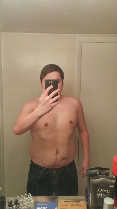 5 Pictures of a 5'8 256 lbs Male Fitness Inspo