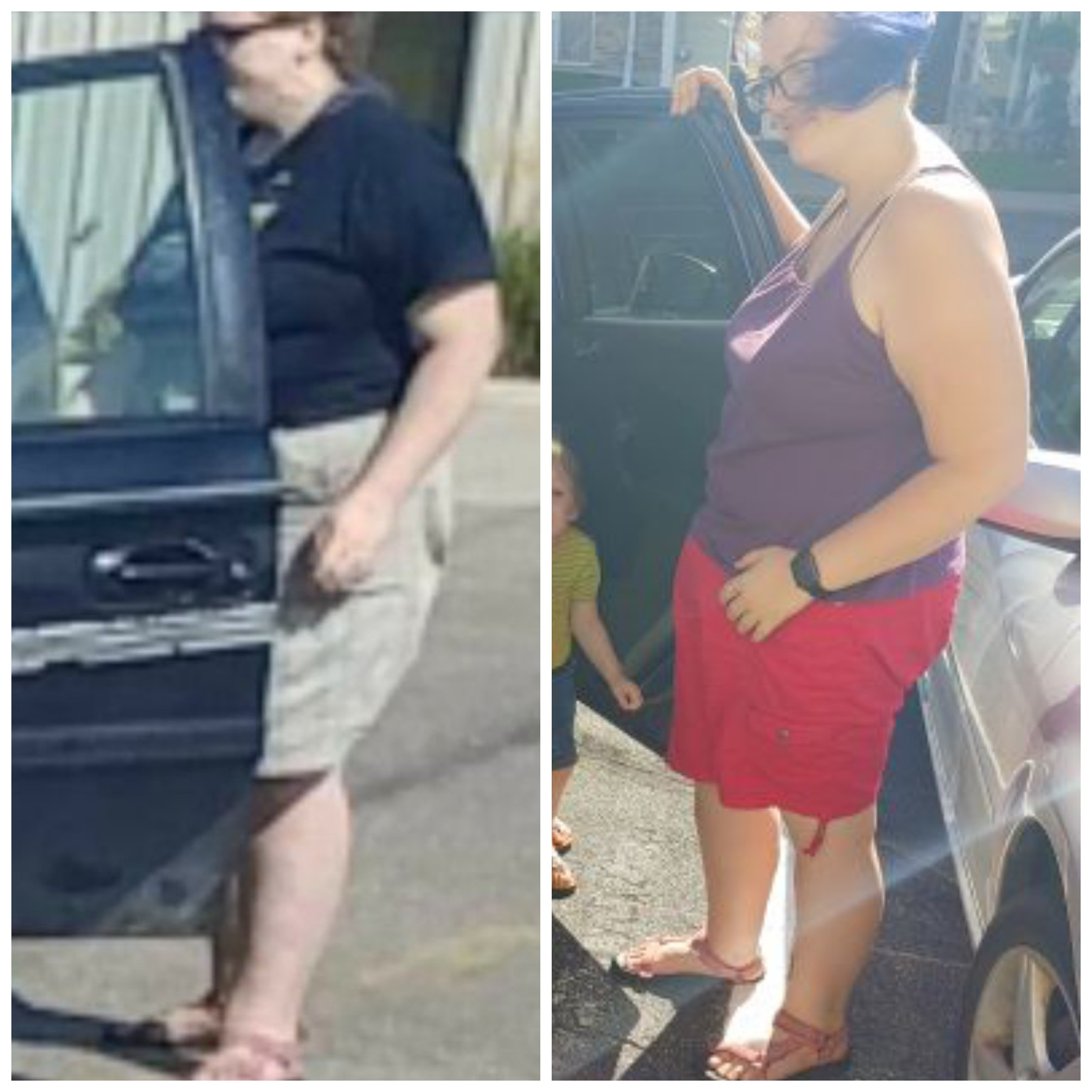 60 lbs Weight Loss Before and After 5 foot 8 Female 290 lbs to 230 lbs