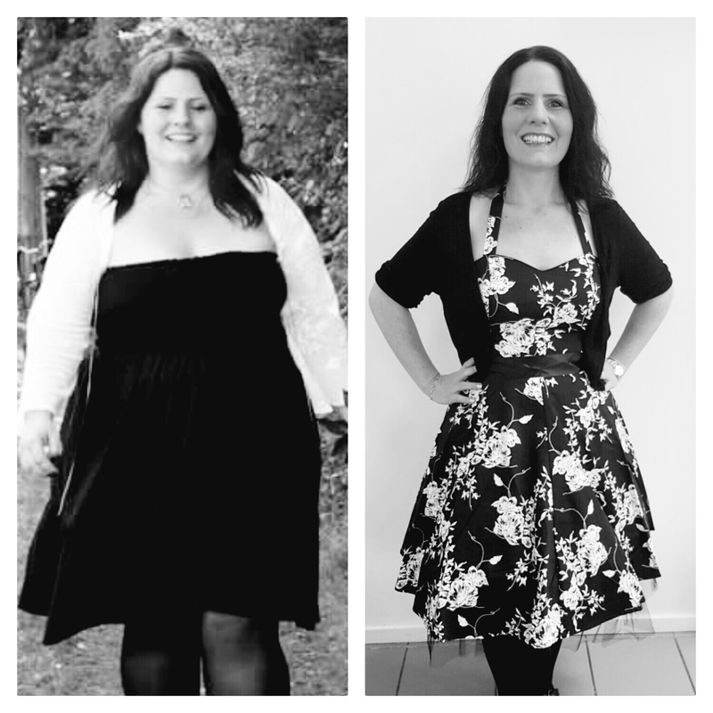 165 lbs Weight Loss Before and After 5'8 Female 352 lbs to 187 lbs