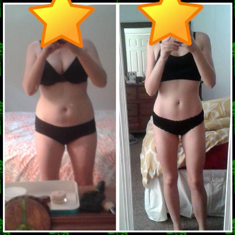 29 lbs Weight Loss 5'3 Female 141 lbs to 112 lbs