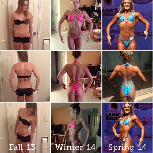 Progress Pics of 17 lbs Weight Gain 5 feet 8 Female 115 lbs to 132 lbs