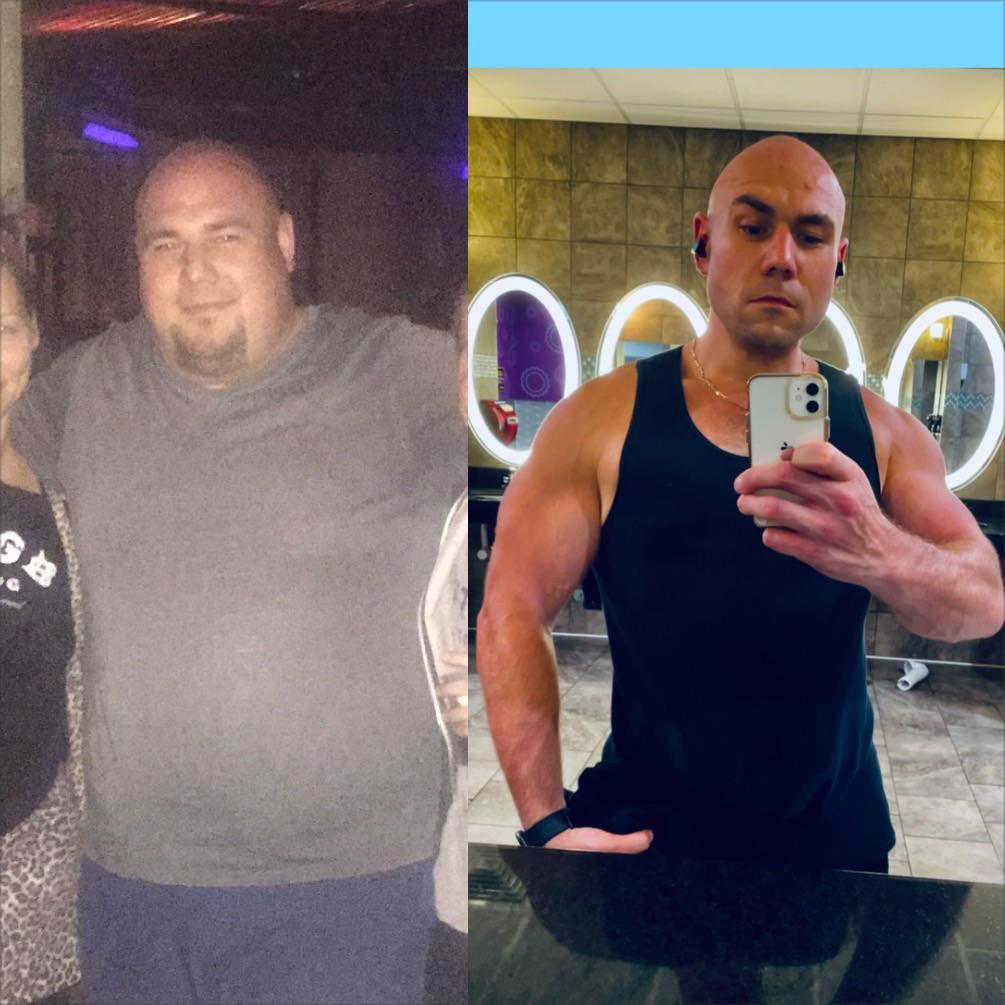 5'10 Male 170 lbs Weight Loss 370 lbs to 200 lbs