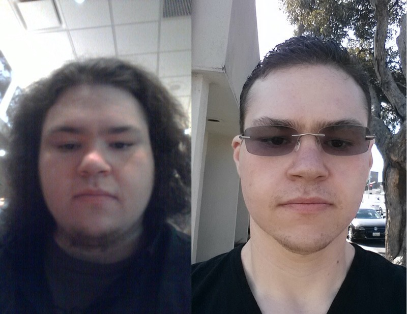 Before and After 197 lbs Weight Loss 6 foot Male 415 lbs to 218 lbs
