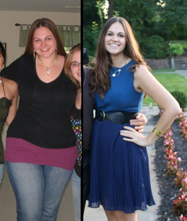 80 lbs Weight Loss 6 foot Female 260 lbs to 180 lbs