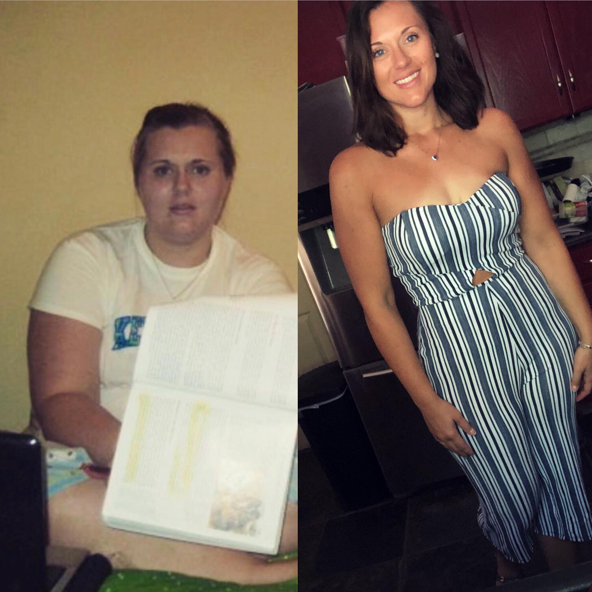 5 feet 11 Female Progress Pics of 110 lbs Fat Loss 315 lbs to 205 lbs