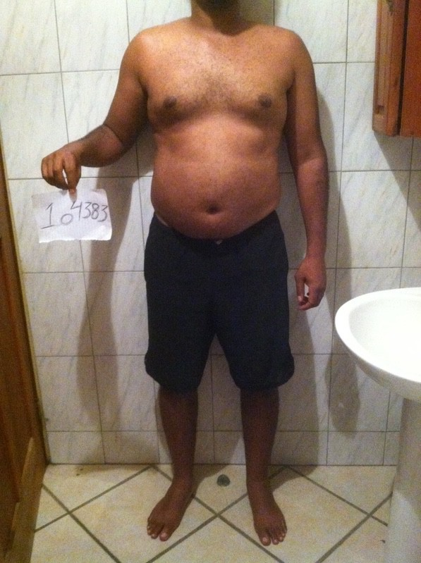 3 Photos of a 5 feet 8 200 lbs Male Weight Snapshot
