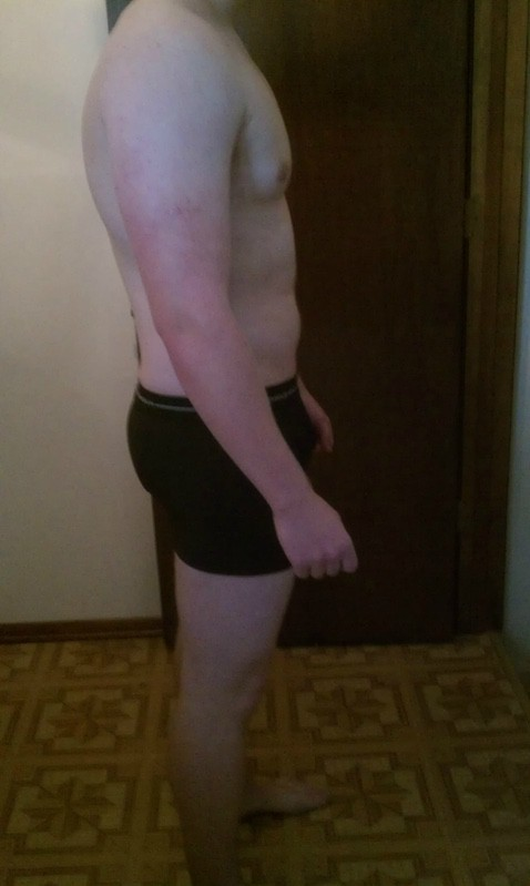 4 Photos of a 190 lbs 5'10 Male Weight Snapshot