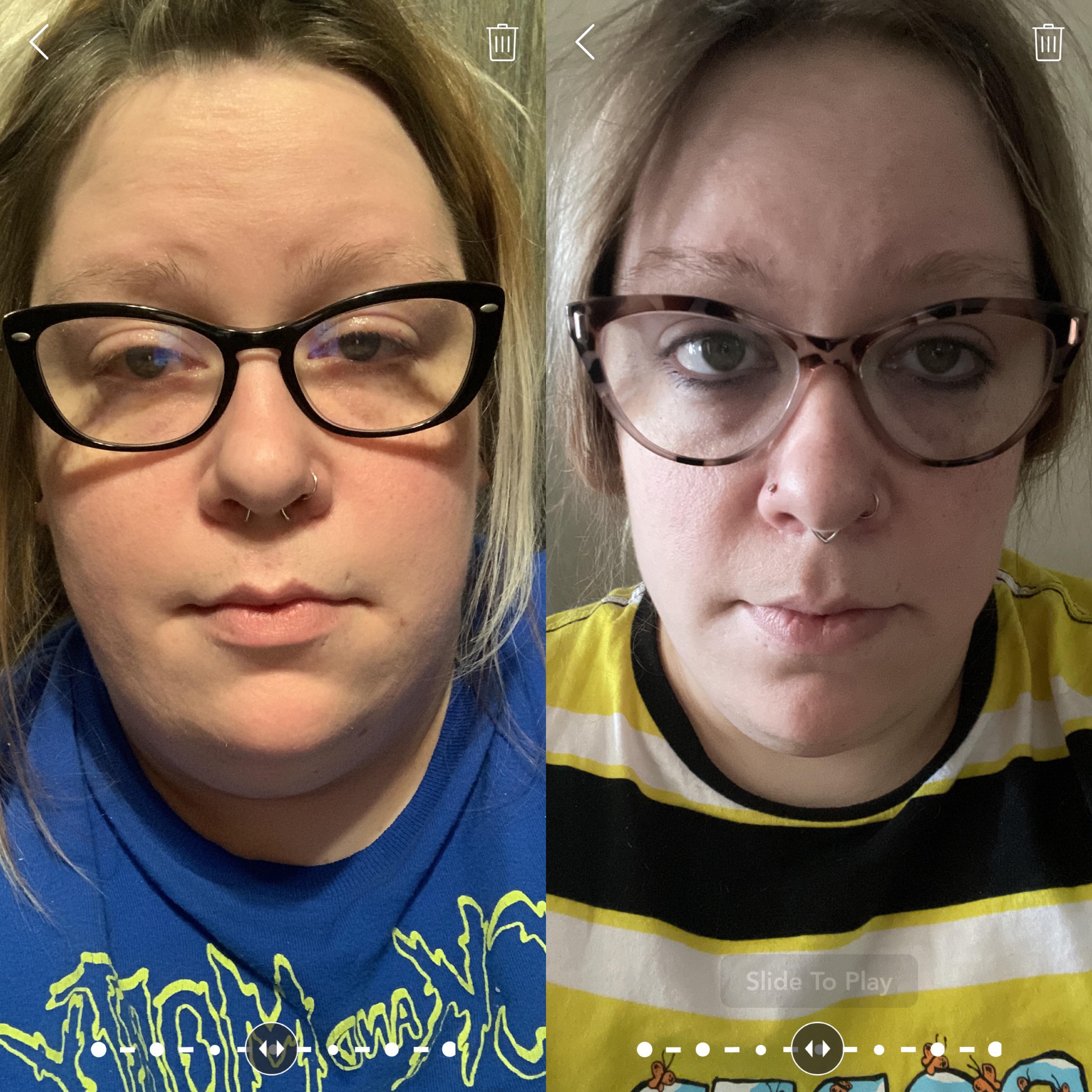 5'6 Female Progress Pics of 42 lbs Weight Loss 265 lbs to 223 lbs