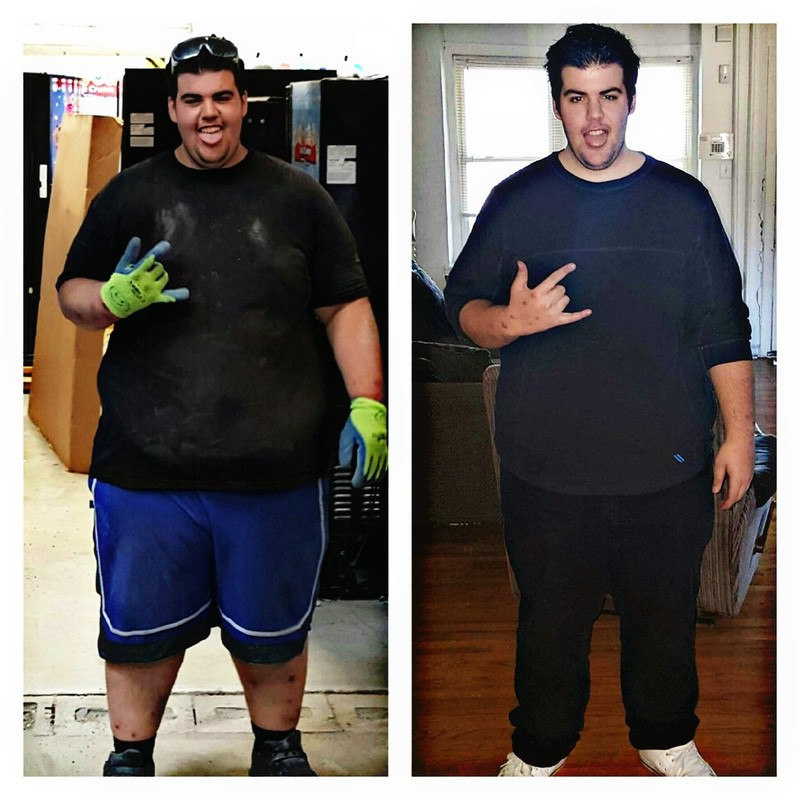 106 lbs Weight Loss Before and After 6 foot 3 Male 460 lbs to 354 lbs