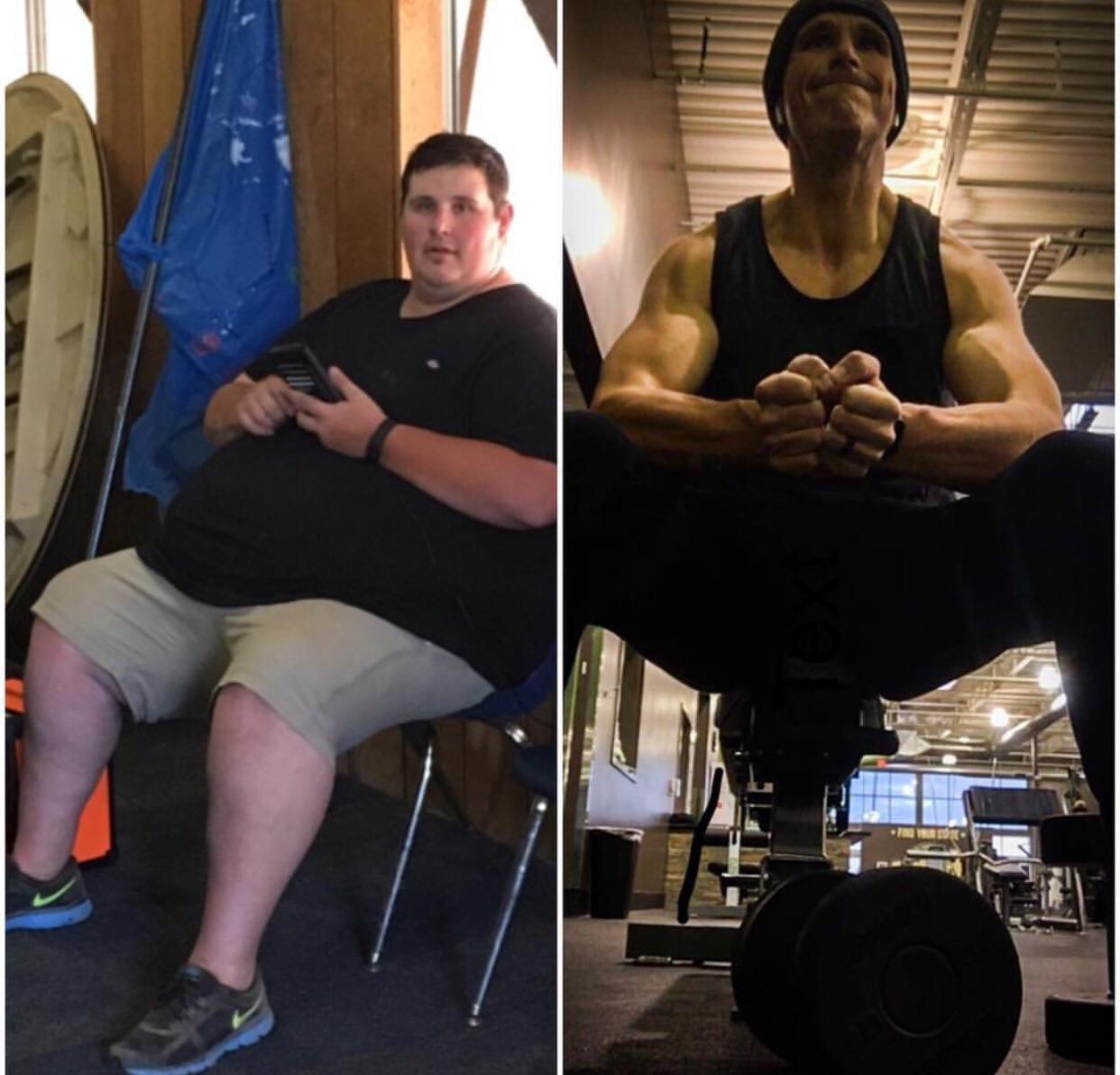 6'3 Male 317 lbs Weight Loss 534 lbs to 217 lbs