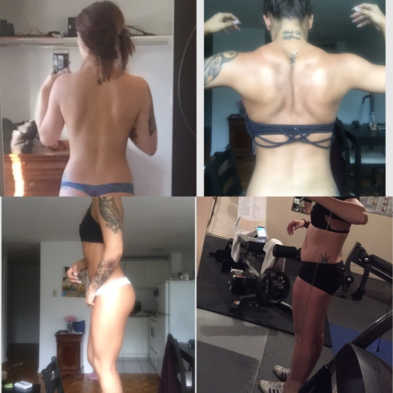 5 foot Female Before and After 10 lbs Weight Loss 130 lbs to 120 lbs