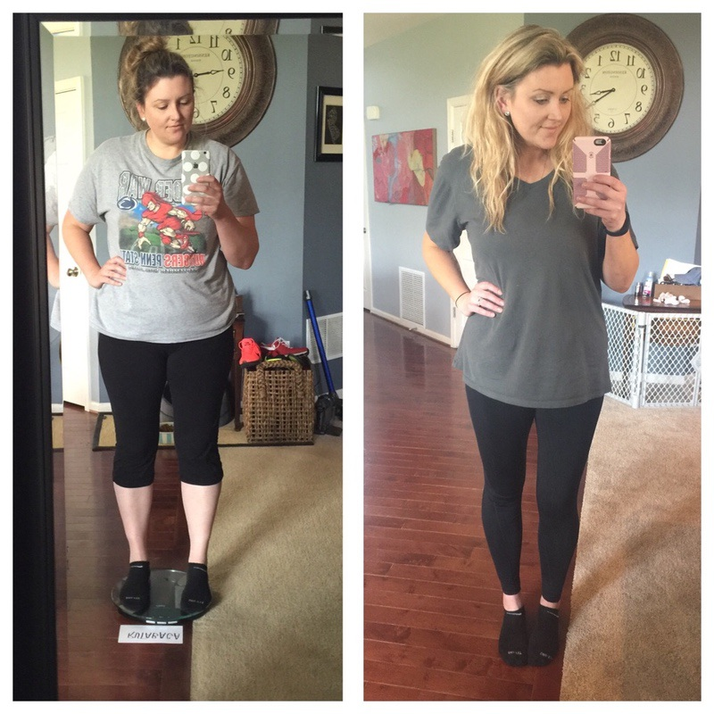 6 foot Female Before and After 51 lbs Weight Loss 231 lbs to 180 lbs