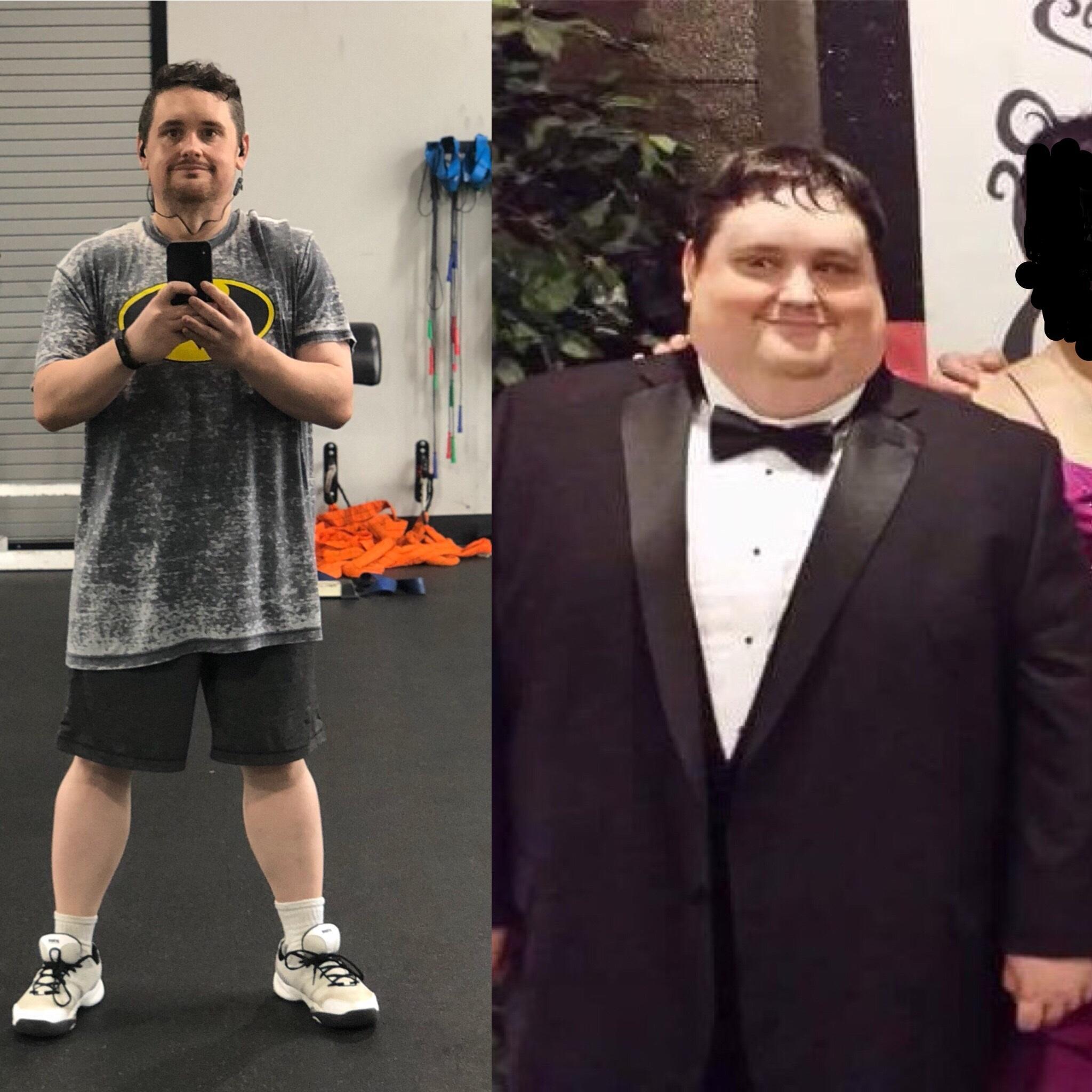 5 foot 6 Male Progress Pics of 141 lbs Weight Loss 334 lbs to 193 lbs