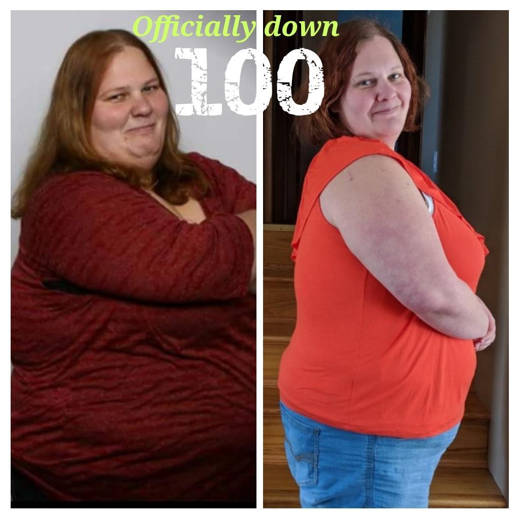 102 lbs Weight Loss 5'8 Female 412 lbs to 310 lbs