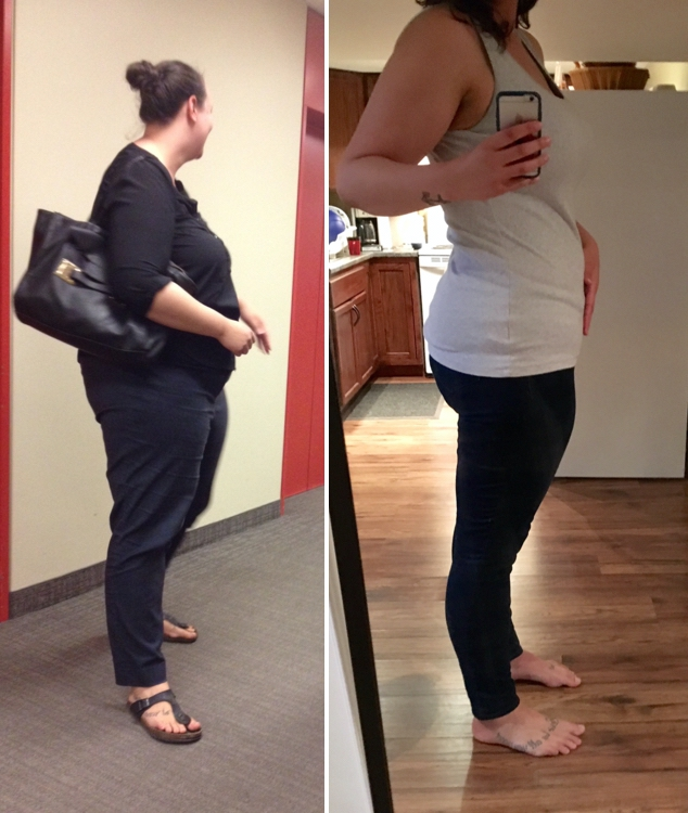6'2 Female Progress Pics of 81 lbs Weight Loss 333 lbs to 252 lbs