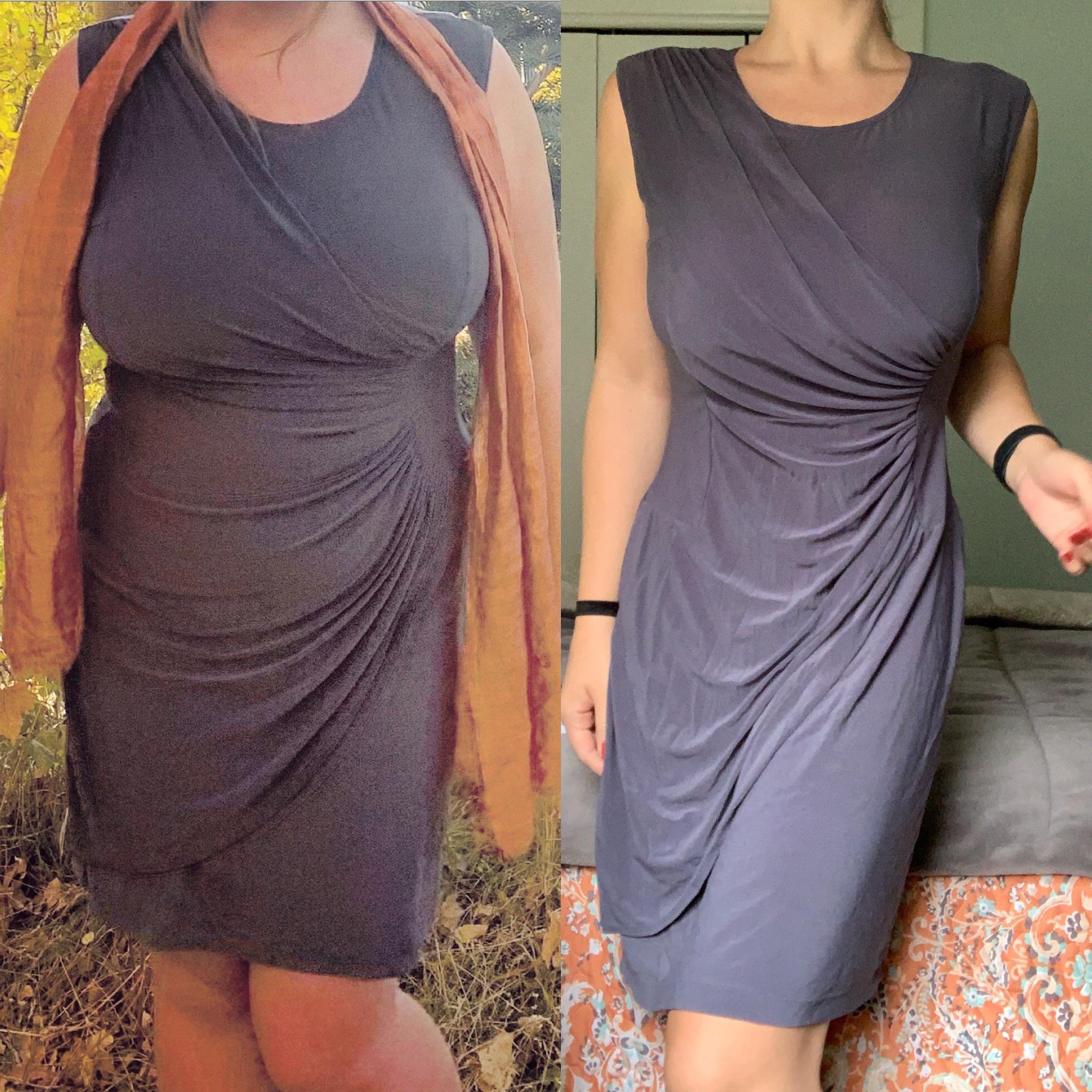 Progress Pics of 70 lbs Fat Loss 5 feet 6 Female 205 lbs to 135 lbs