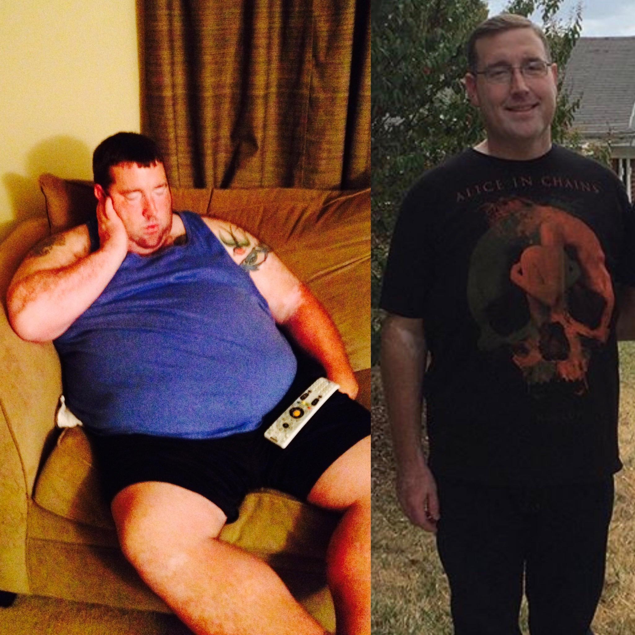 5'11 Male Progress Pics of 185 lbs Fat Loss 425 lbs to 240 lbs
