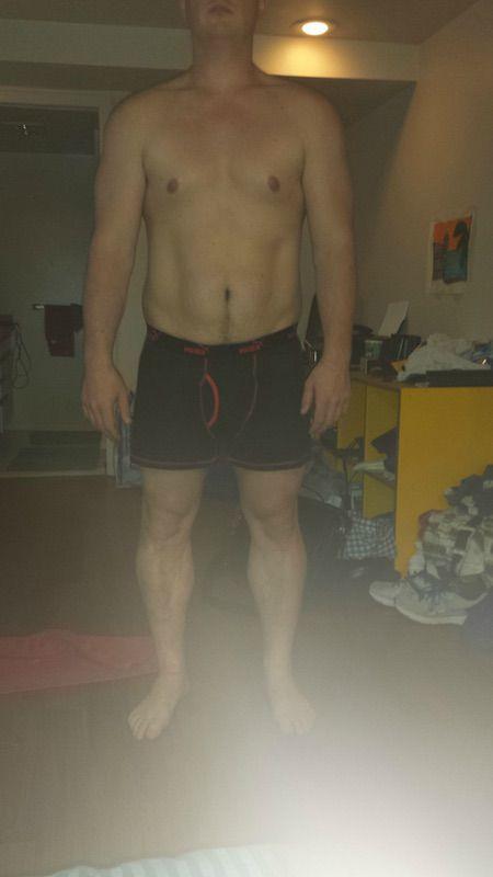 4 Pics of a 5 feet 9 225 lbs Male Fitness Inspo