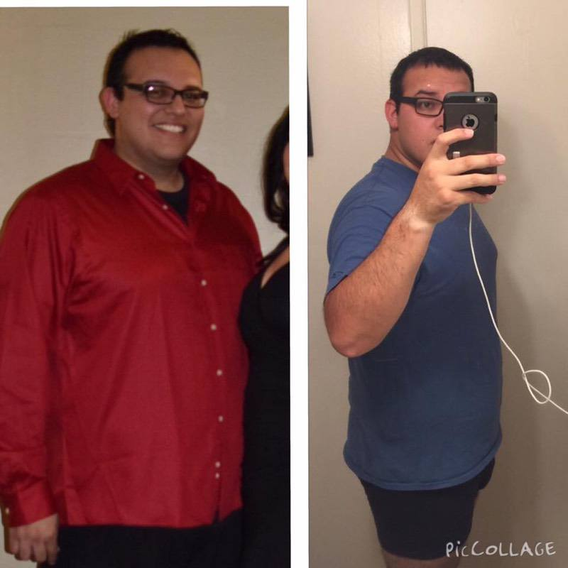 5 foot 11 Male Before and After 25 lbs Fat Loss 280 lbs to 255 lbs