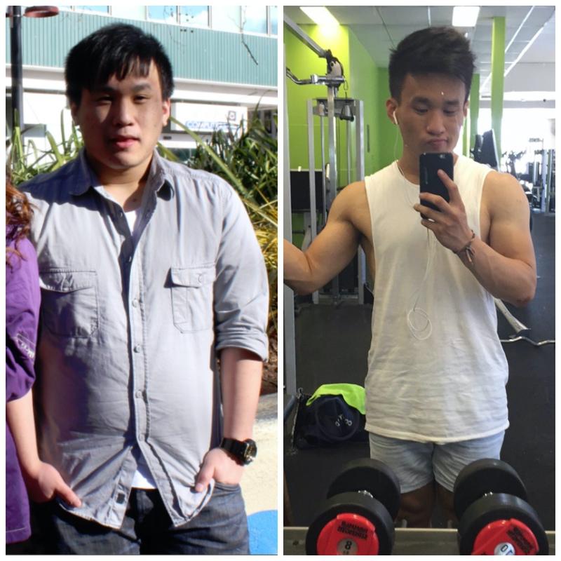 77 lbs Weight Loss 5 feet 7 Male 231 lbs to 154 lbs