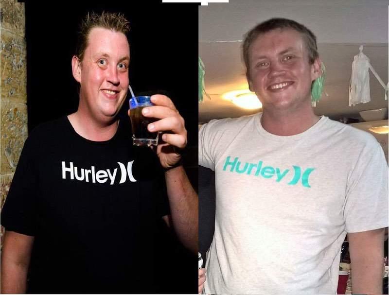 6'6 Male Progress Pics of 57 lbs Fat Loss 268 lbs to 211 lbs