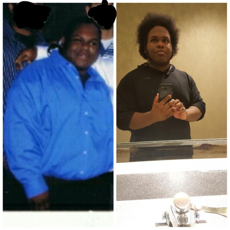 5 foot 5 Male 145 lbs Fat Loss 400 lbs to 255 lbs