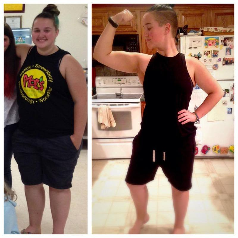 5'8 Female 50 lbs Fat Loss Before and After 245 lbs to 195 lbs