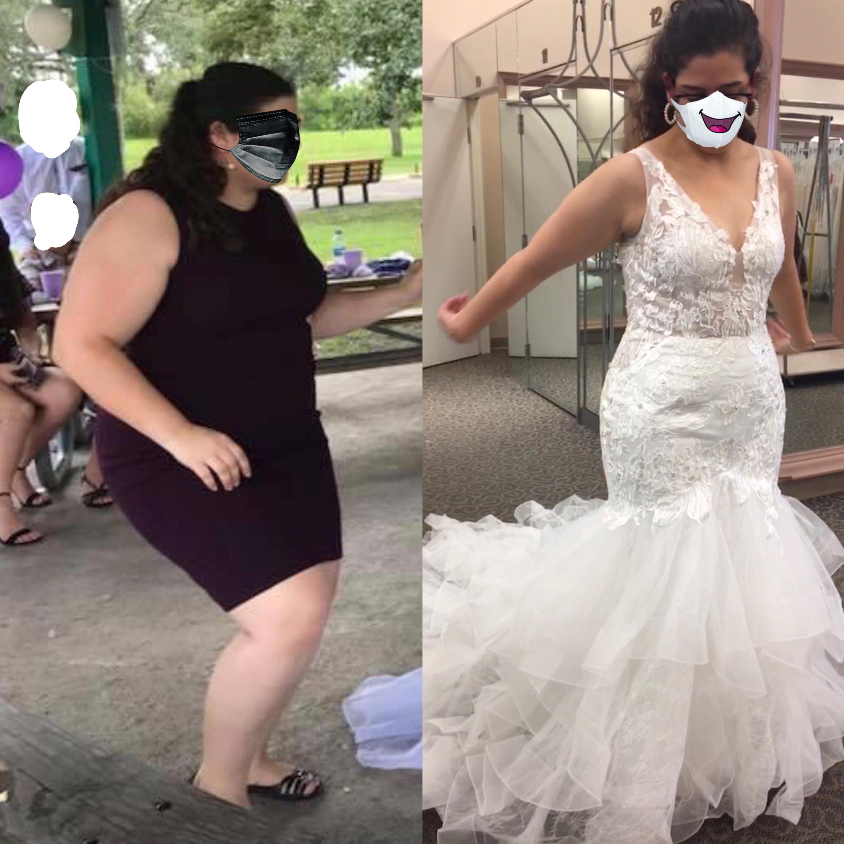 Progress Pics of 114 lbs Fat Loss 5 foot 4 Female 290 lbs to 176 lbs