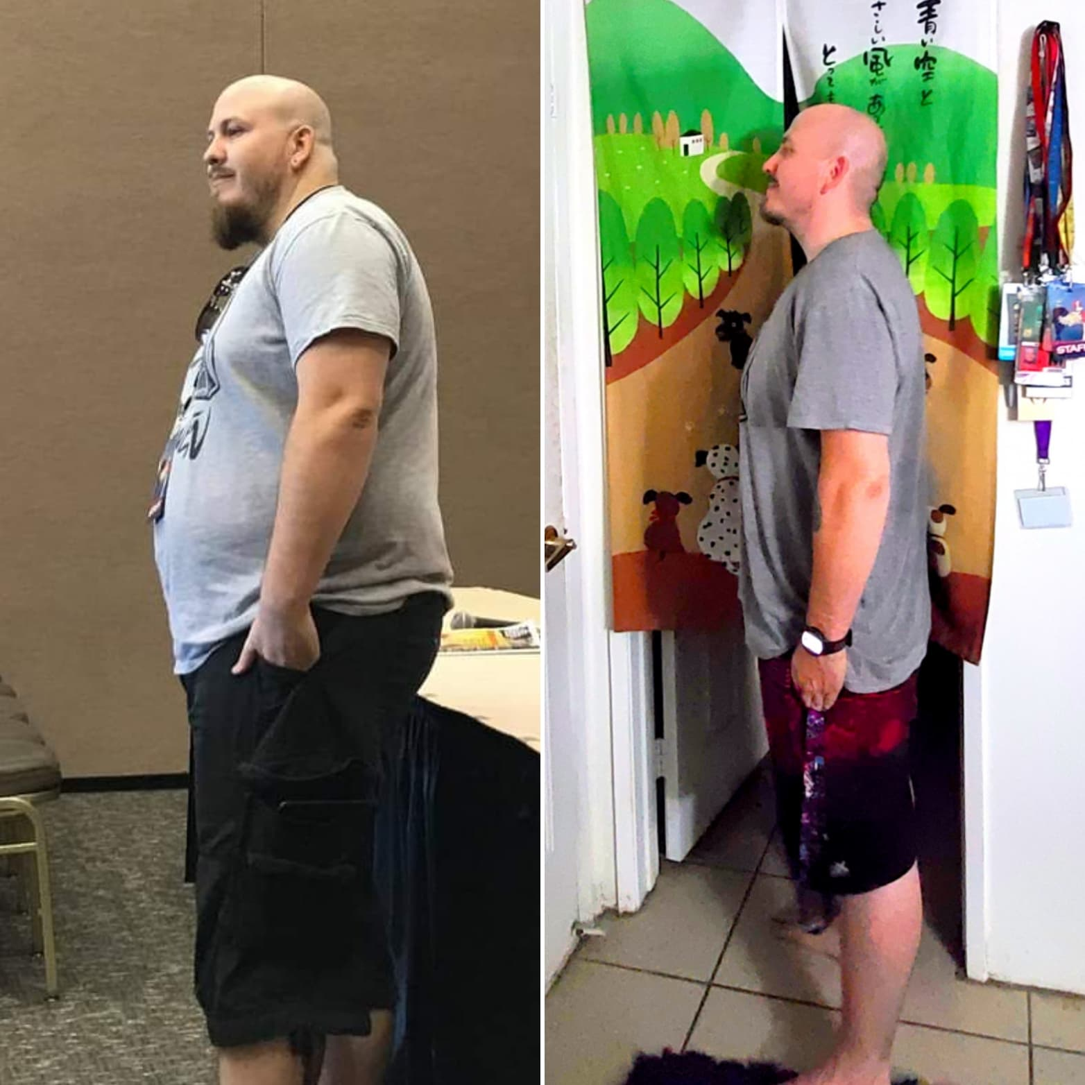 5 foot 7 Male 133 lbs Weight Loss Before and After 330 lbs to 197 lbs