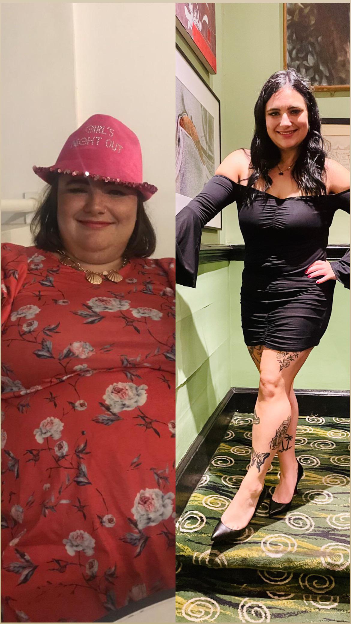 5 feet 1 Female 112 lbs Weight Loss 269 lbs to 157 lbs