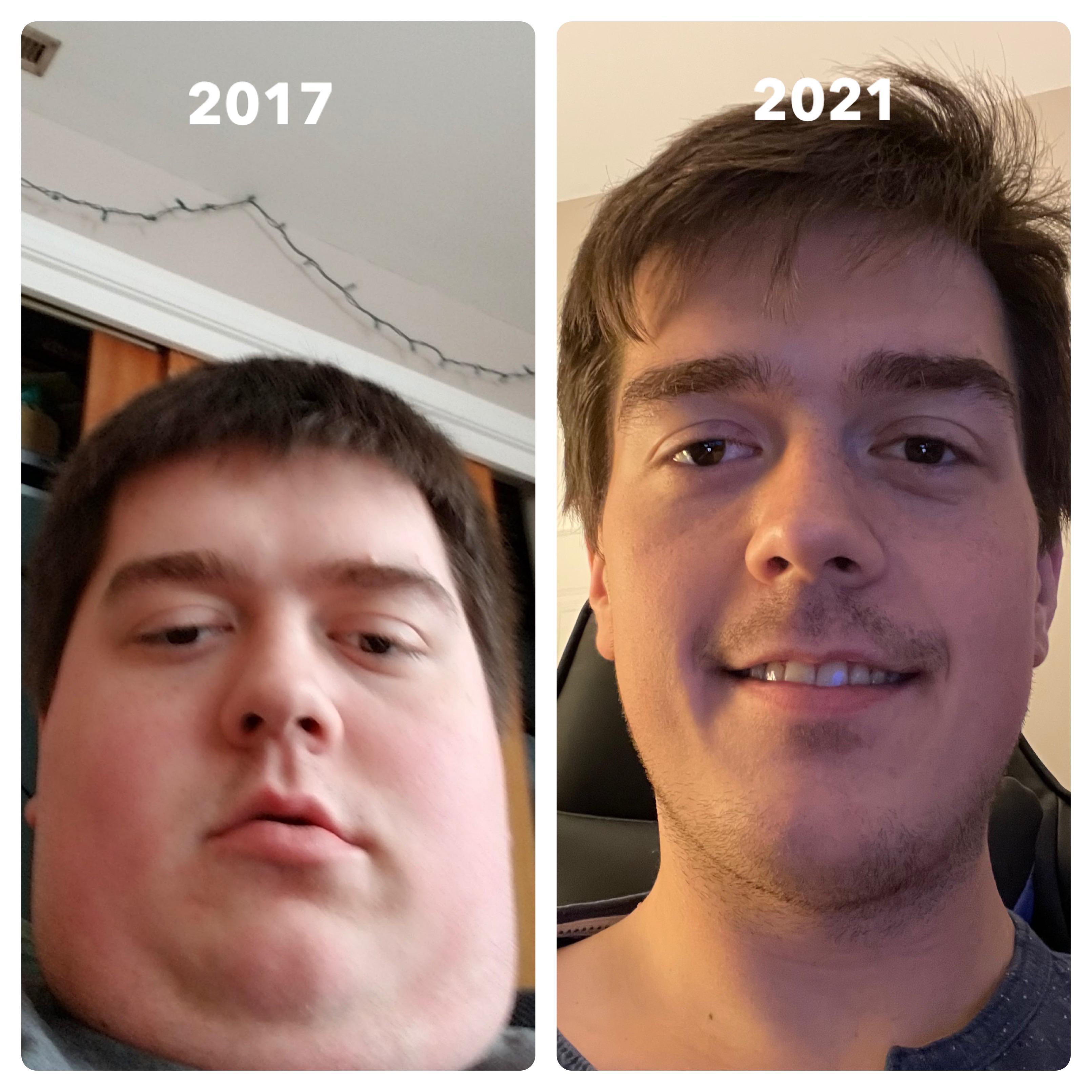 Progress Pics of 140 lbs Fat Loss 6 feet 1 Male 340 lbs to 200 lbs