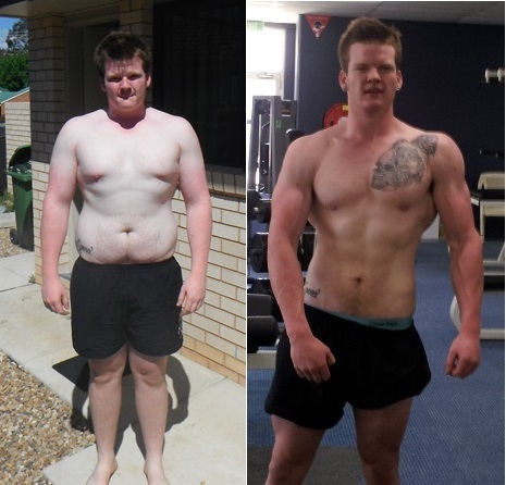 6'4 Male Before and After 83 lbs Fat Loss 313 lbs to 230 lbs