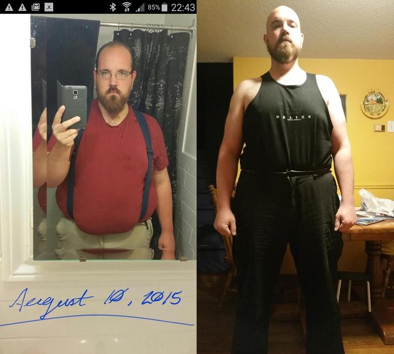 6 foot Male 53 lbs Fat Loss 355 lbs to 302 lbs