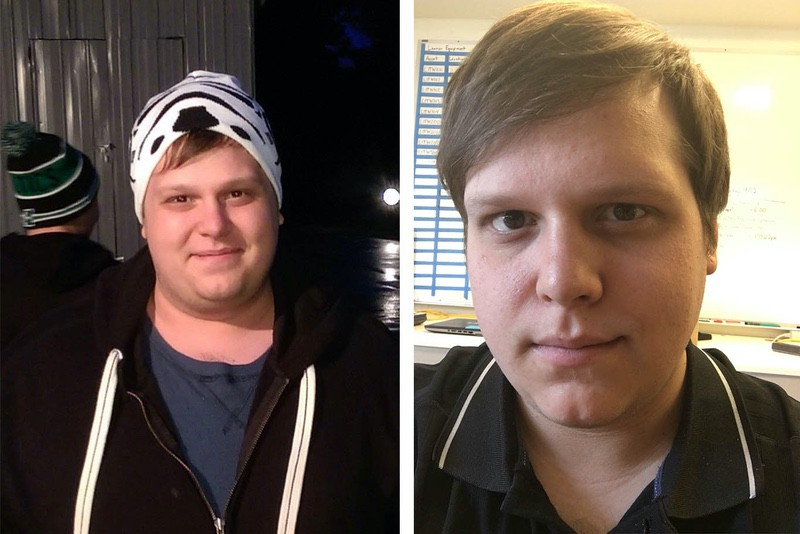 5 foot 7 Male 50 lbs Fat Loss Before and After 328 lbs to 278 lbs