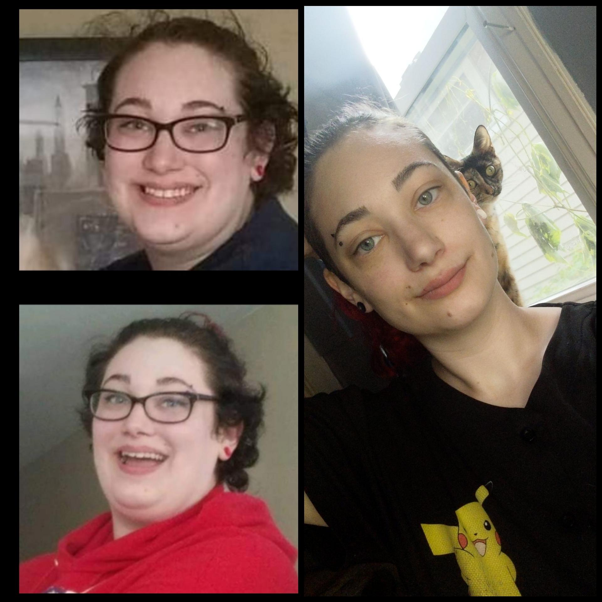 5 foot 9 Female Progress Pics of 87 lbs Weight Loss 270 lbs to 183 lbs
