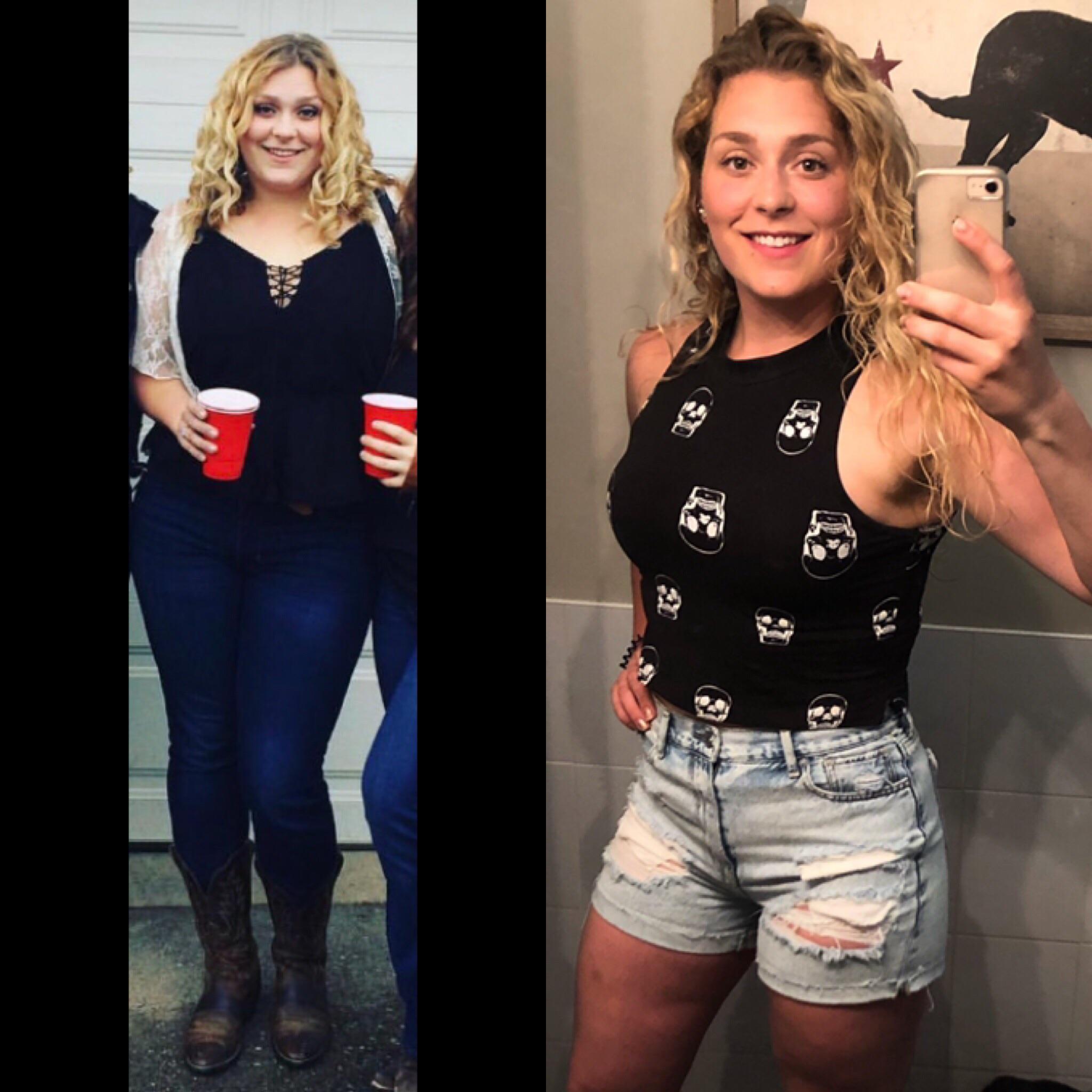 47 lbs Weight Loss 5'9 Female 230 lbs to 183 lbs