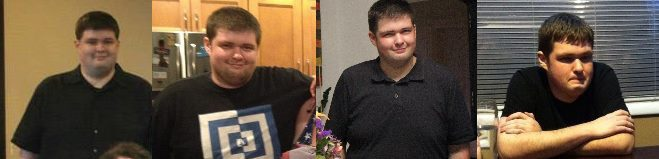 6 foot Male 110 lbs Fat Loss 350 lbs to 240 lbs