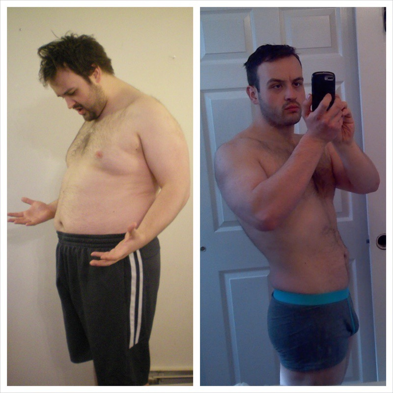 5 foot 8 Male Before and After 58 lbs Weight Loss 254 lbs to 196 lbs