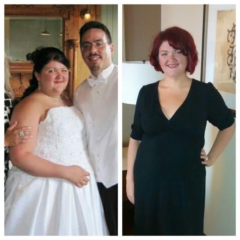91 lbs Fat Loss 5'7 Female 289 lbs to 198 lbs