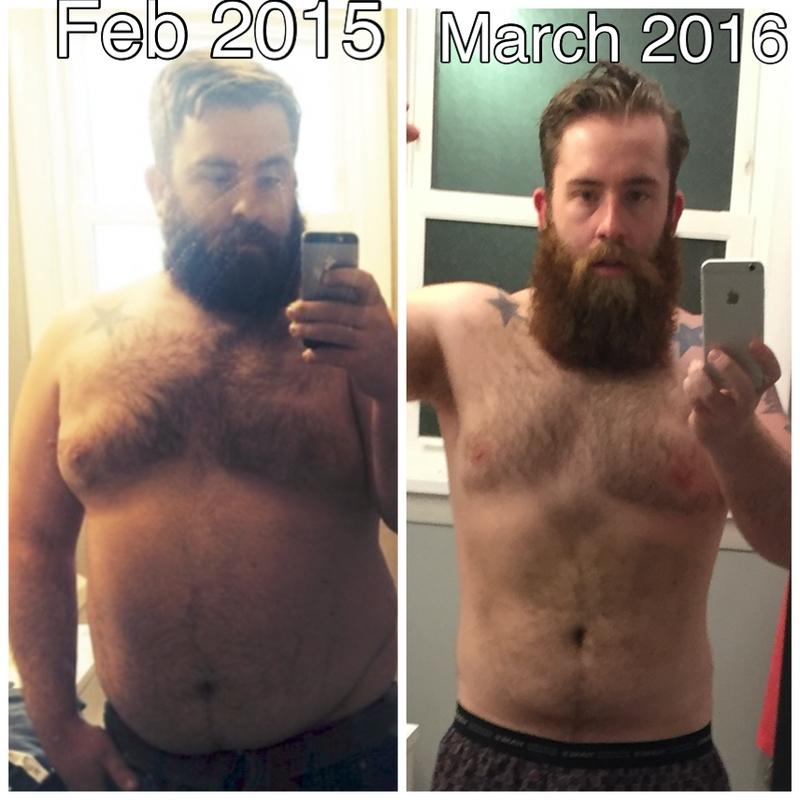 5'10 Male 59 lbs Weight Loss 263 lbs to 204 lbs