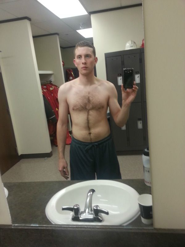 6'1 Male 25 lbs Muscle Gain Before and After 185 lbs to 210 lbs