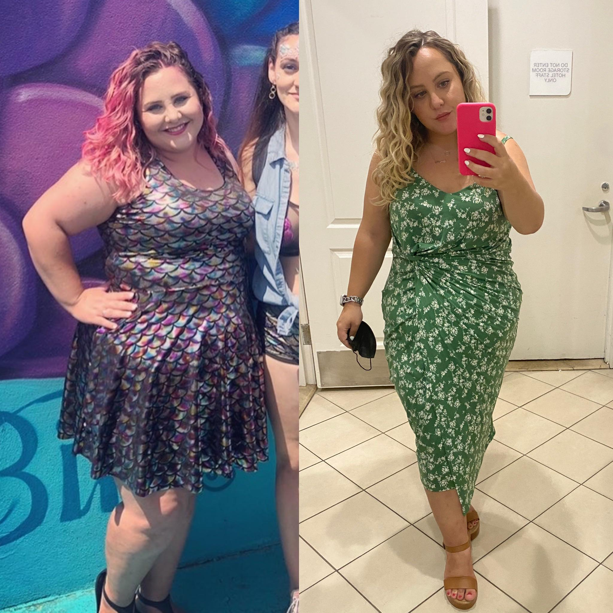 5 foot 2 Female 47 lbs Weight Loss 243 lbs to 196 lbs