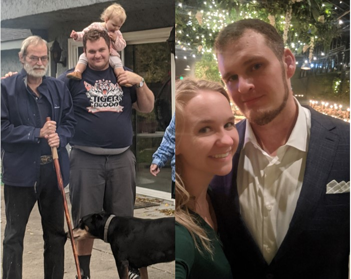 90 lbs Weight Loss Before and After 6'4 Male 360 lbs to 270 lbs