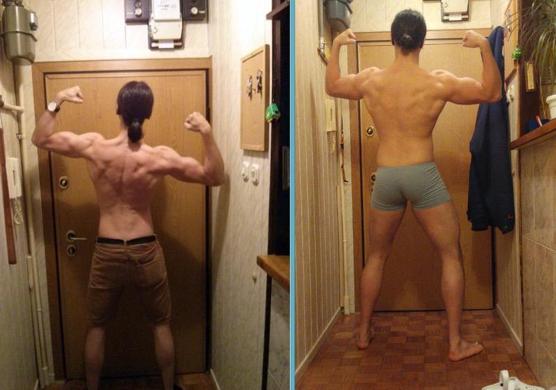6'4 Male 43 lbs Muscle Gain 182 lbs to 225 lbs