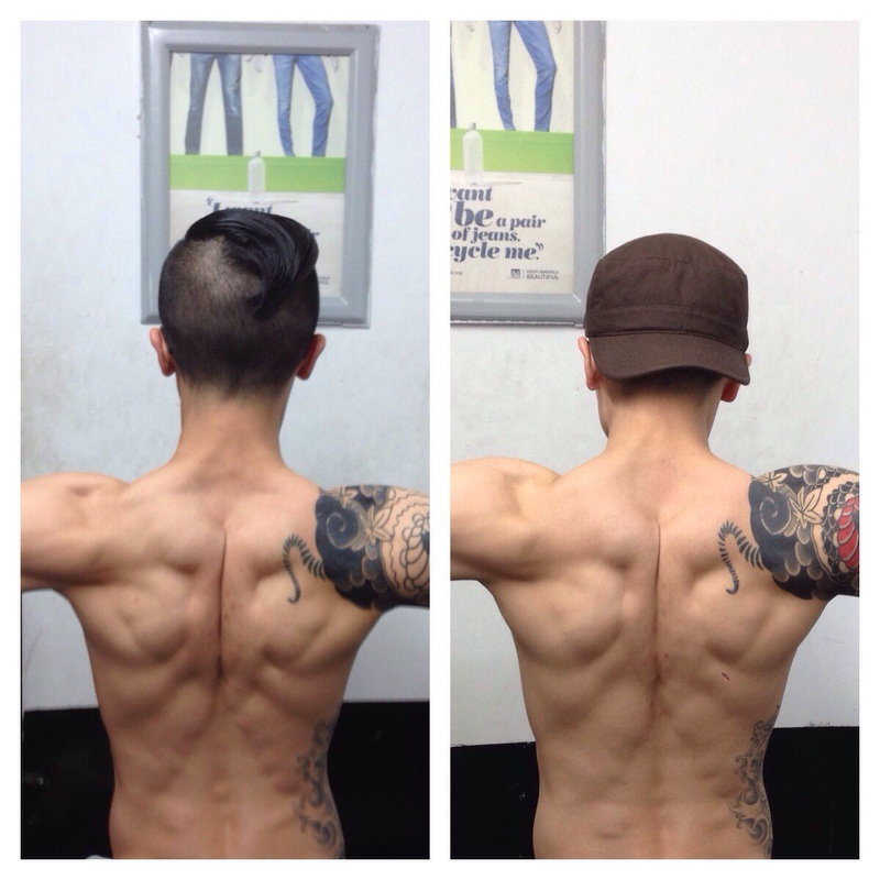 Progress Pics of 5 lbs Muscle Gain 5 foot 4 Male 114 lbs to 119 lbs