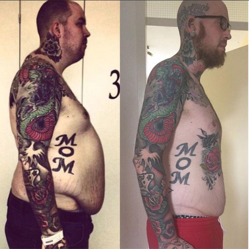 Progress Pics of 121 lbs Fat Loss 6'6 Male 352 lbs to 231 lbs