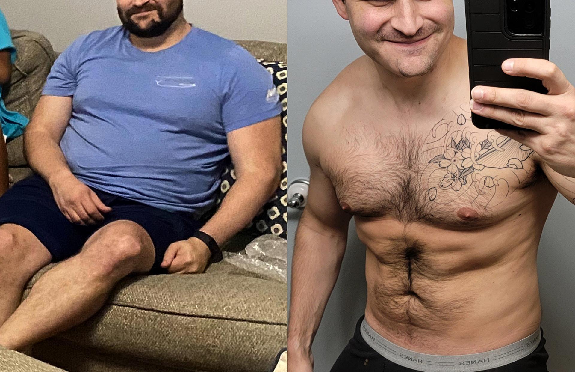 5'11 Male 48 lbs Fat Loss 235 lbs to 187 lbs