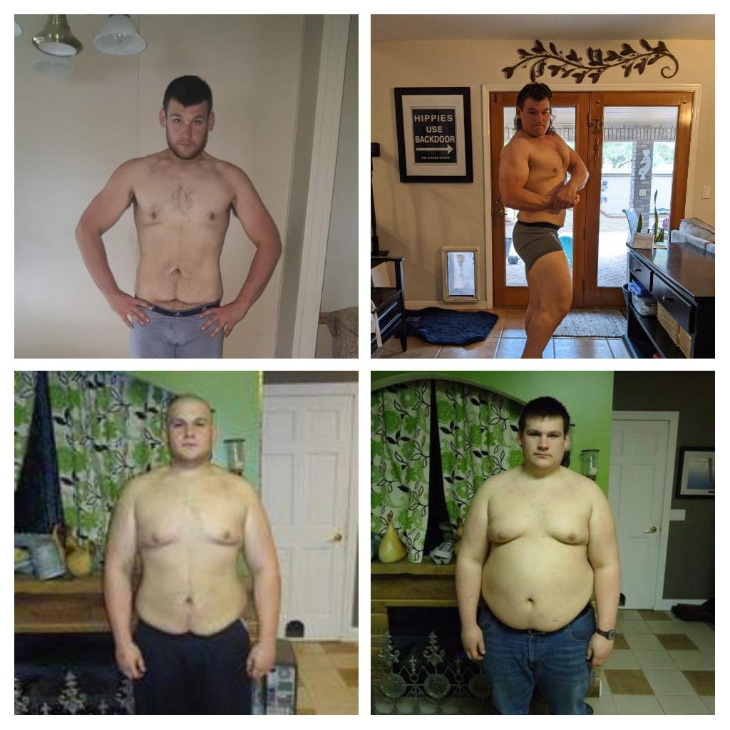 135 lbs Weight Loss 5'10 Male 330 lbs to 195 lbs
